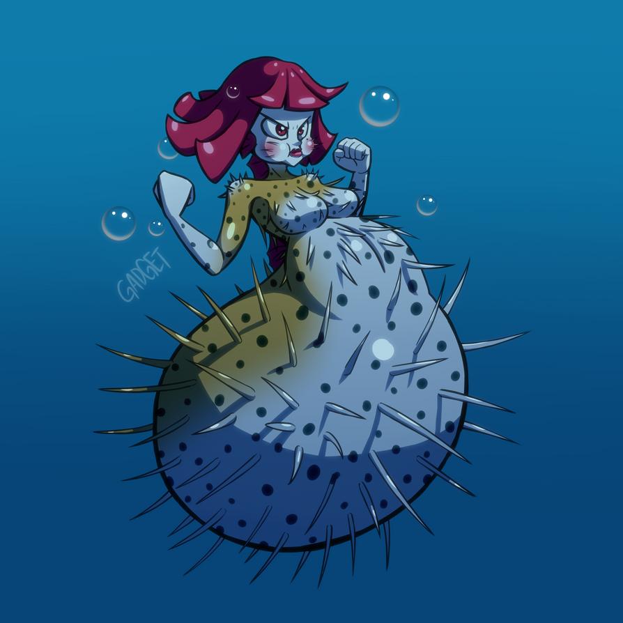 Monster Girl #5 - Mermaid by GadgetTR