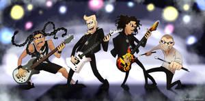 Metallica Cartoonized
