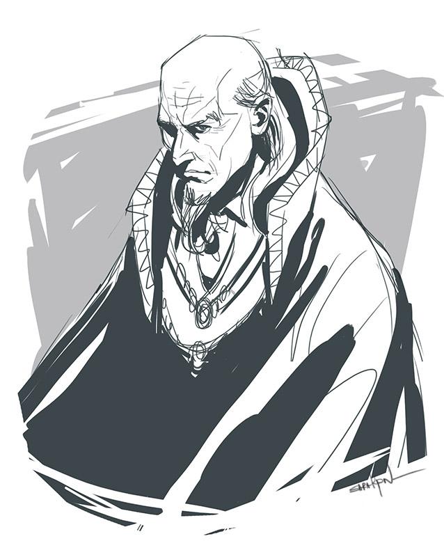 Wizard sketch