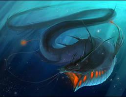 Dragoncatfisheel..thing. by iZonbi