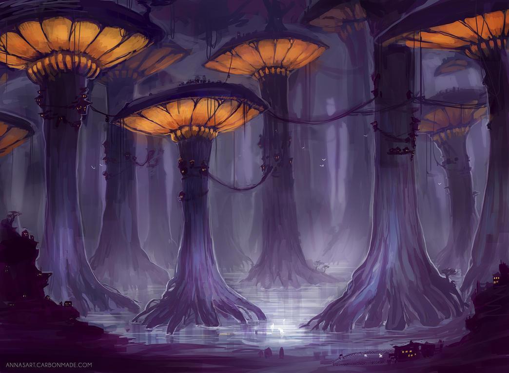 magic mushroom art - photo #18