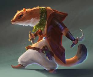 Weasel thief by iZonbi