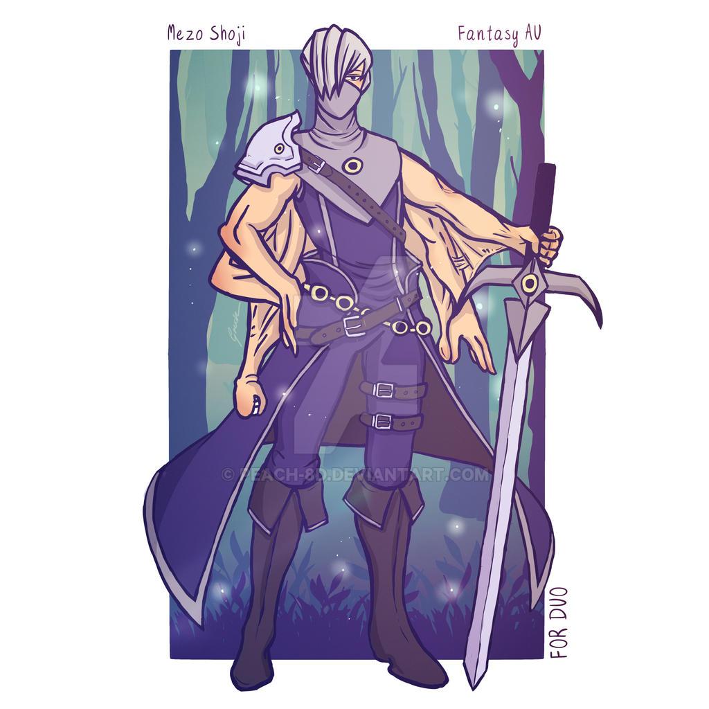 Shoji Fantasy Au Commission By Peach 8d On Deviantart