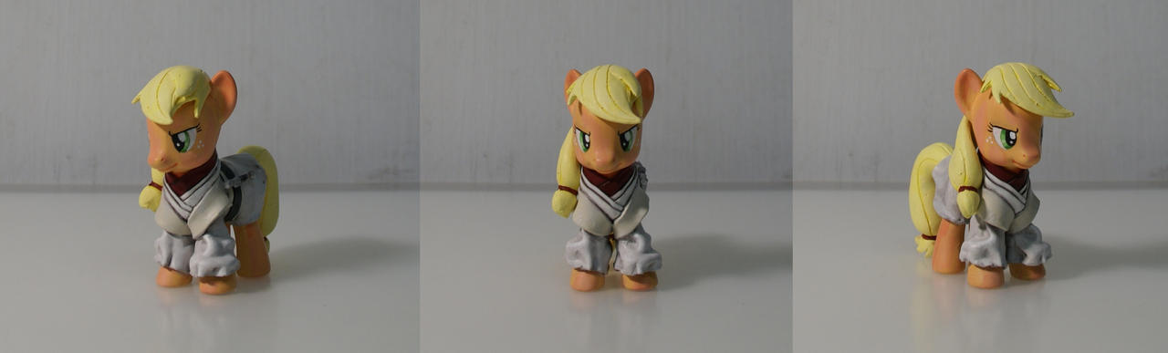 Jedi Applejack by azurevine