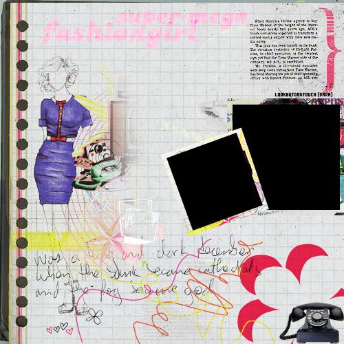 super-mega  fashion girl by Lookbutdontouch