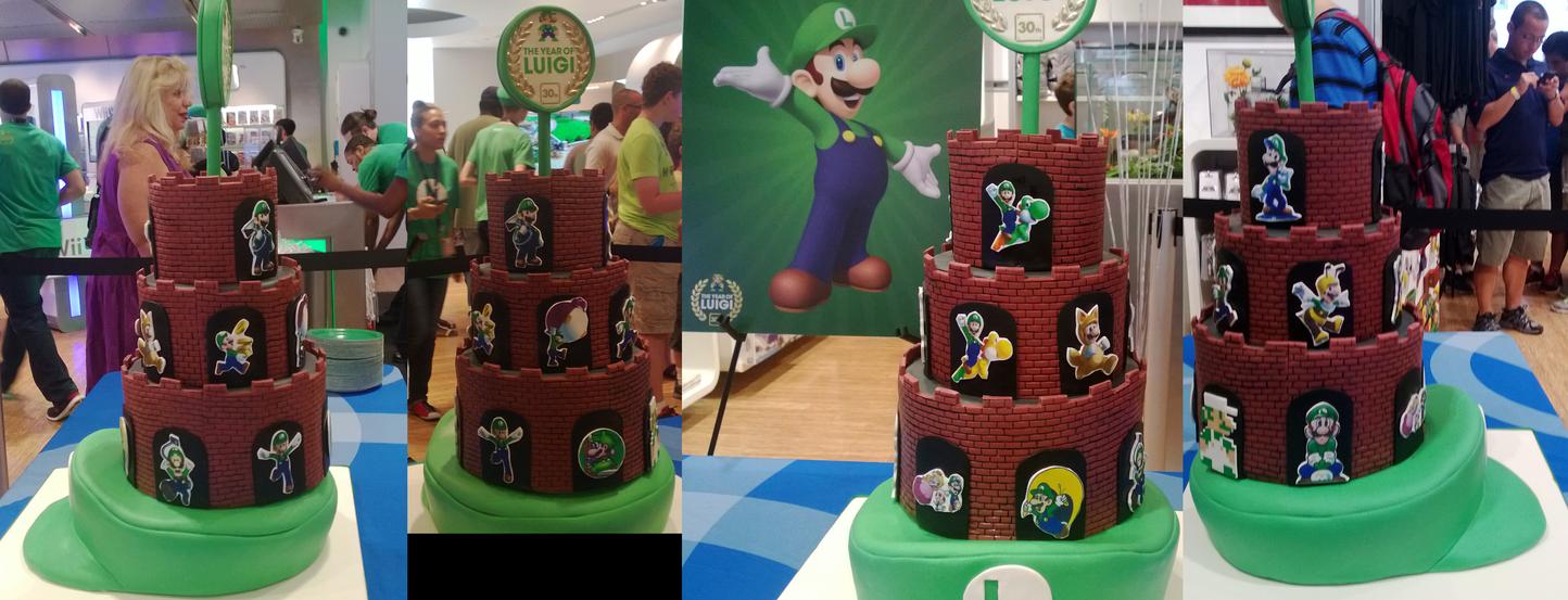 Year of The Luigi Cake by DoremiSonicCilanlove on DeviantArt