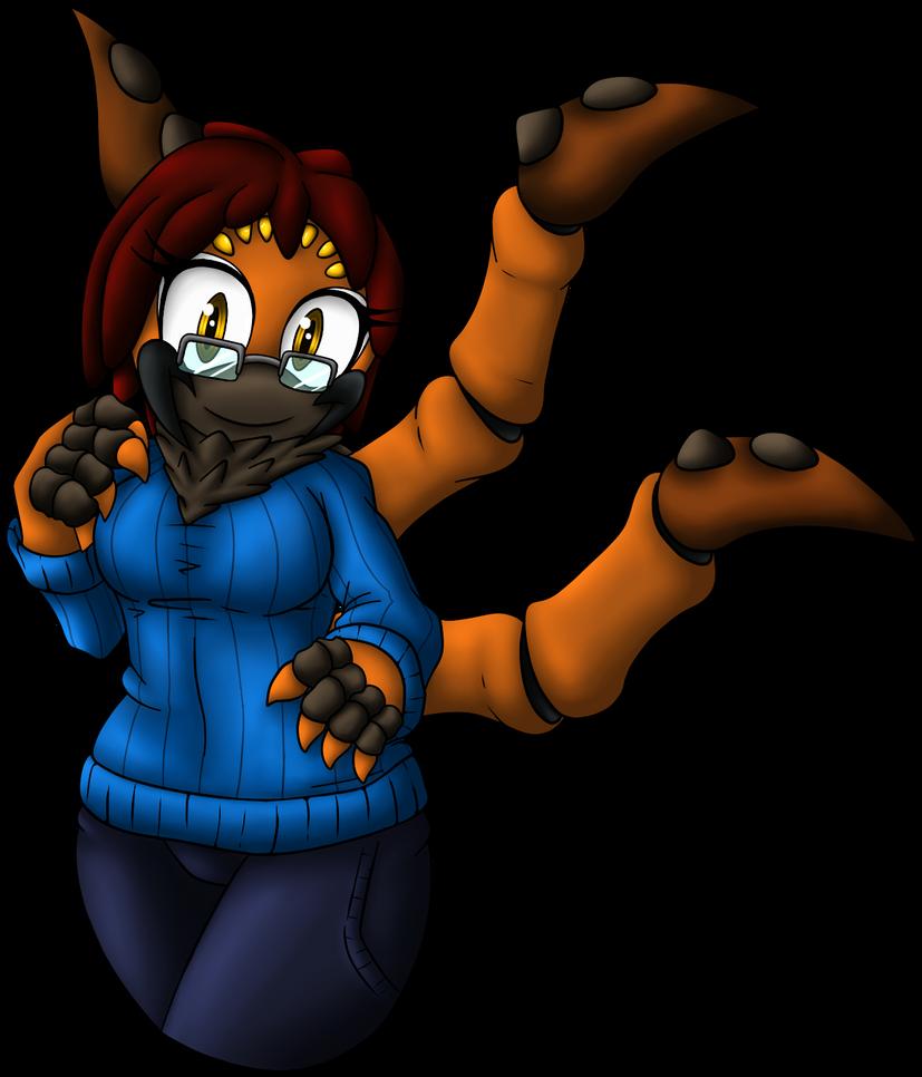 Older Zoey by OrionTHedgehog