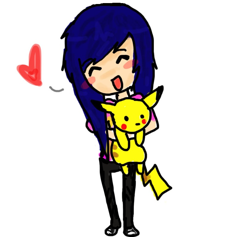 Cute Chibi Pikachu Girl By DokiDoki Cross