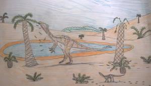 Triassic oasis