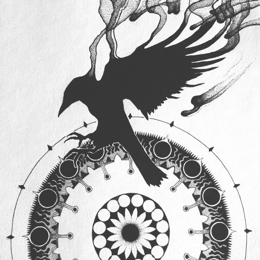 Crow by DryadMedia