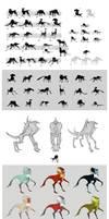 Tarcan - creature design process 2013