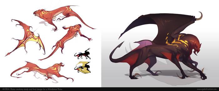 Rotus - creature design