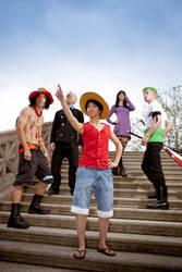 One Piece - Adventure by abolechander