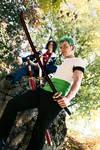 Zoro and Tashigi - Blades