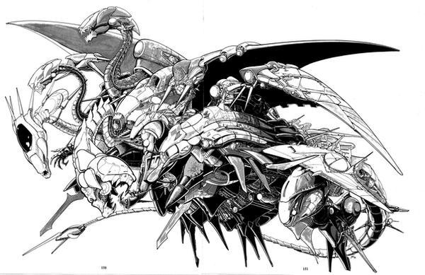 Old Stuff - Dragon Dreadnought by newtman001