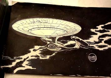 Enterprise-D by newtman001