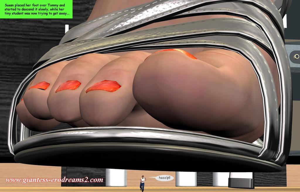 Giantess Erodreams2 - Shrinking Student by ilayhu2