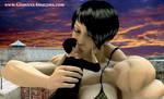 Giantess Amazons - No Trespassing