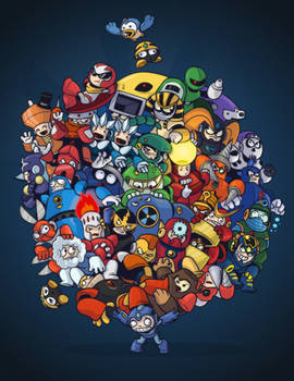 Mega Manly Man