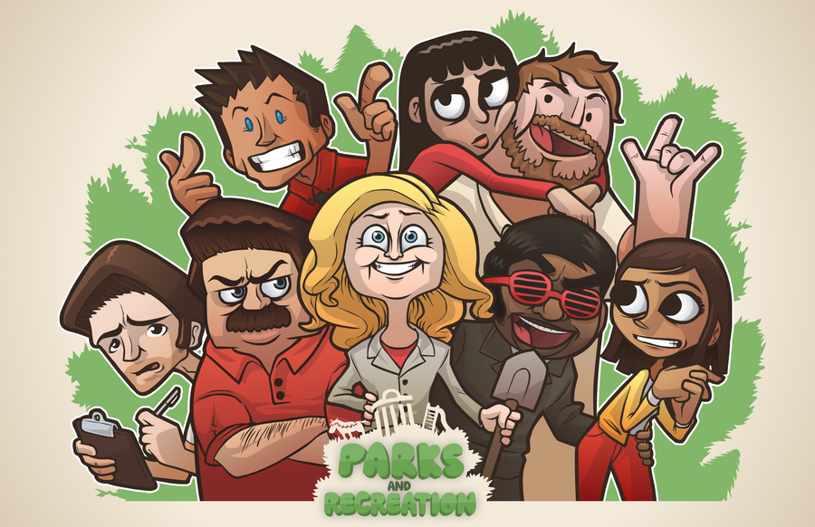 Parks and Recreation! by hyperboy