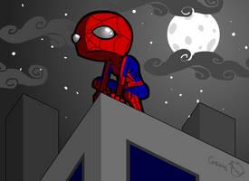 Spiderman Fanart by hyperboy