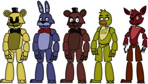 Five Nights at Freddy's Puppet Rigs