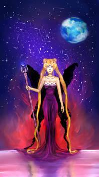 I am Sailor Moon, champion of evil...