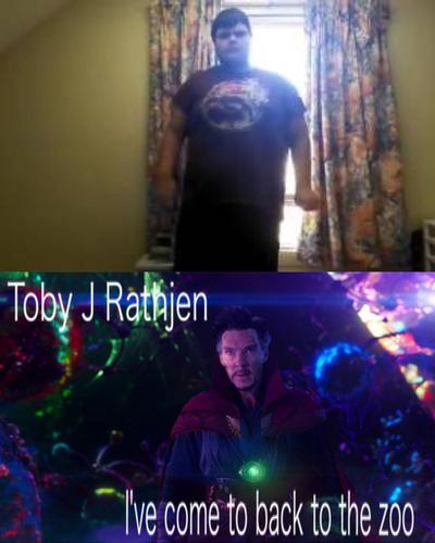Doctor Strange Meme (Toby J Rathjen) by ZombieLover93