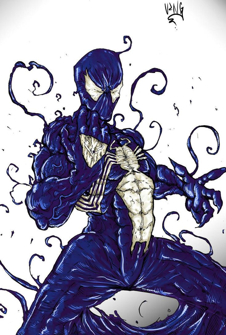 Symbiote Spider-Man by DSirPenguin on DeviantArt