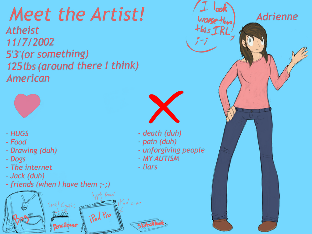 Meet the artist meme!!! by WhateverIWantChannel