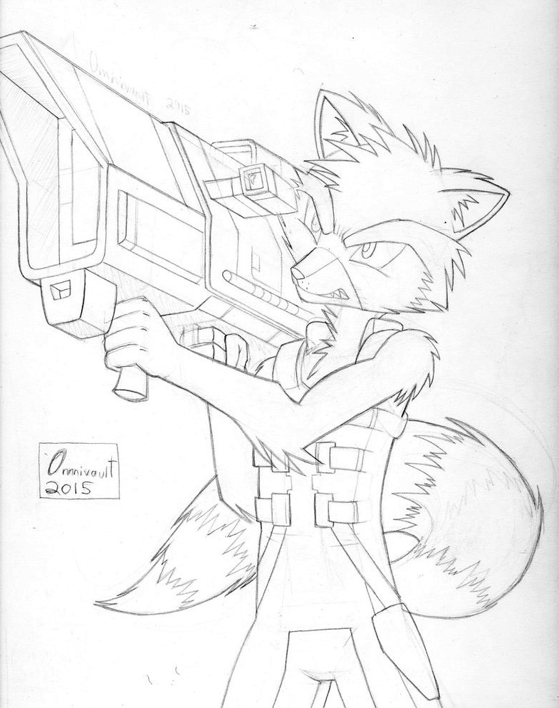 Rocket Takes Aim by Omnivault