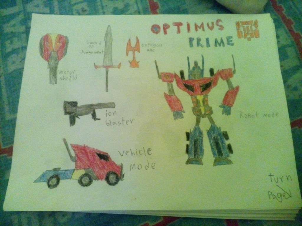 TRANSFORMERS CHRONICLES OPTIMUS PRIME by Robotponytron