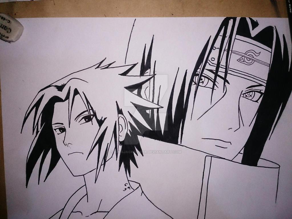 Sasuke And Itachi From...