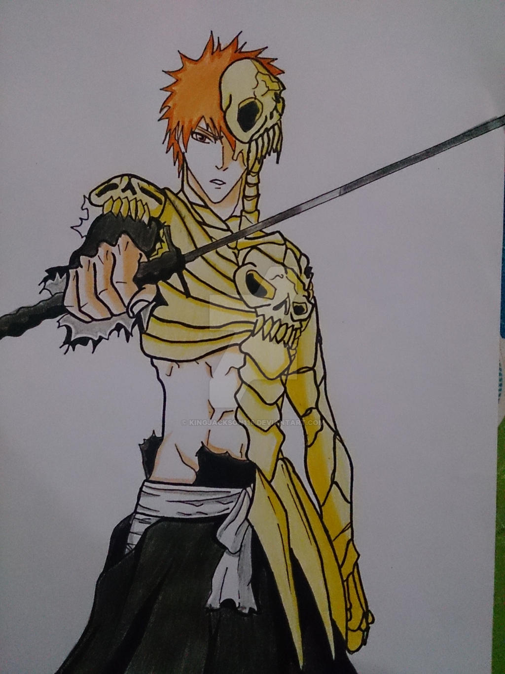 Ichigo God oF Hell Form From Bleach ( Complete ) by kingjackson116 ...
