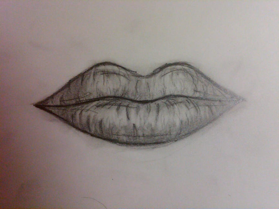 Closed Lips Sketch Images & Pictures - Becuo: becuo.com/closed-lips-sketch