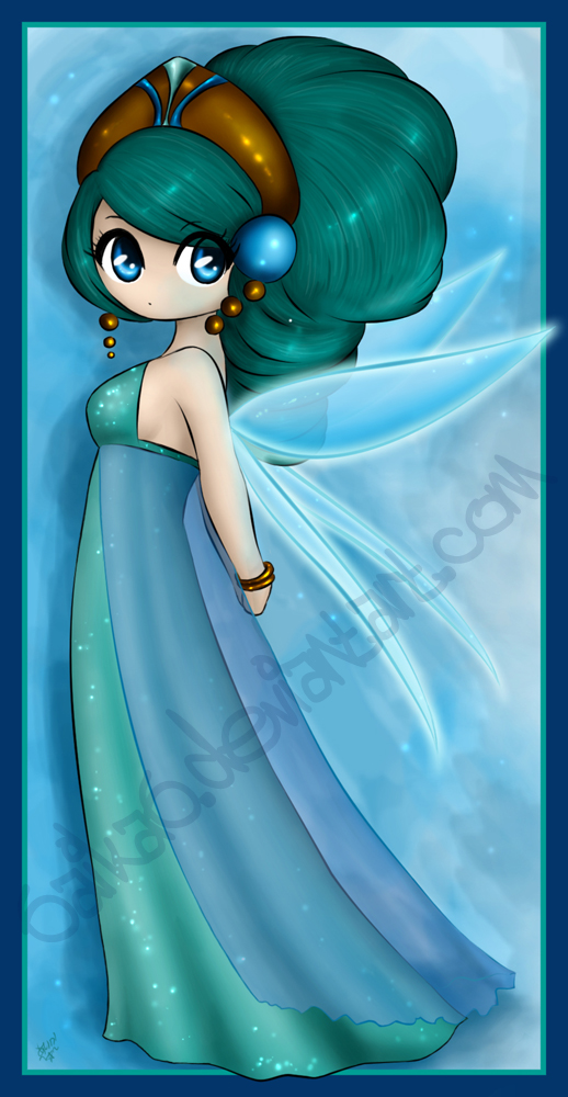 chibi anime girls fairy - photo #14