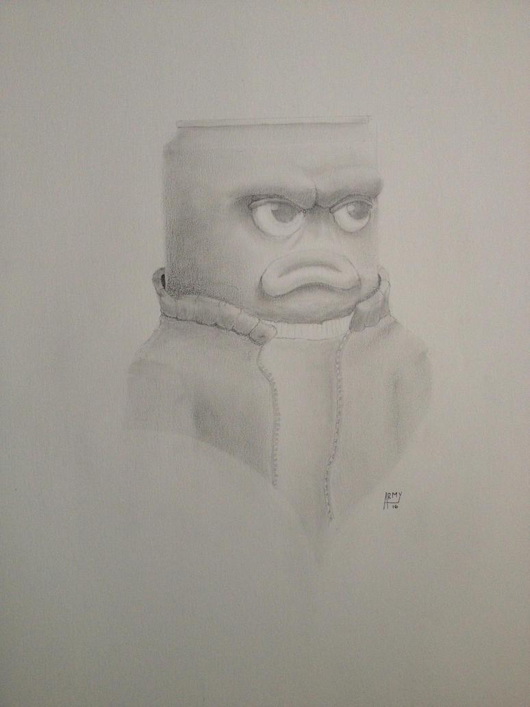 Mr Redd pencil portrait by ArmandoFlores