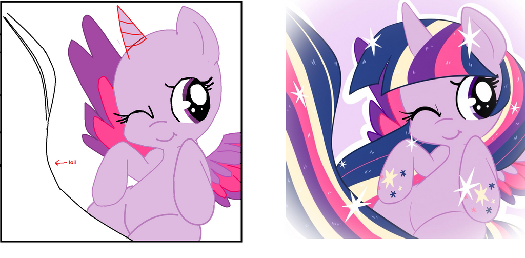 Mlp Base Alicorn Twilight By Honeyheartbases On DeviantArt