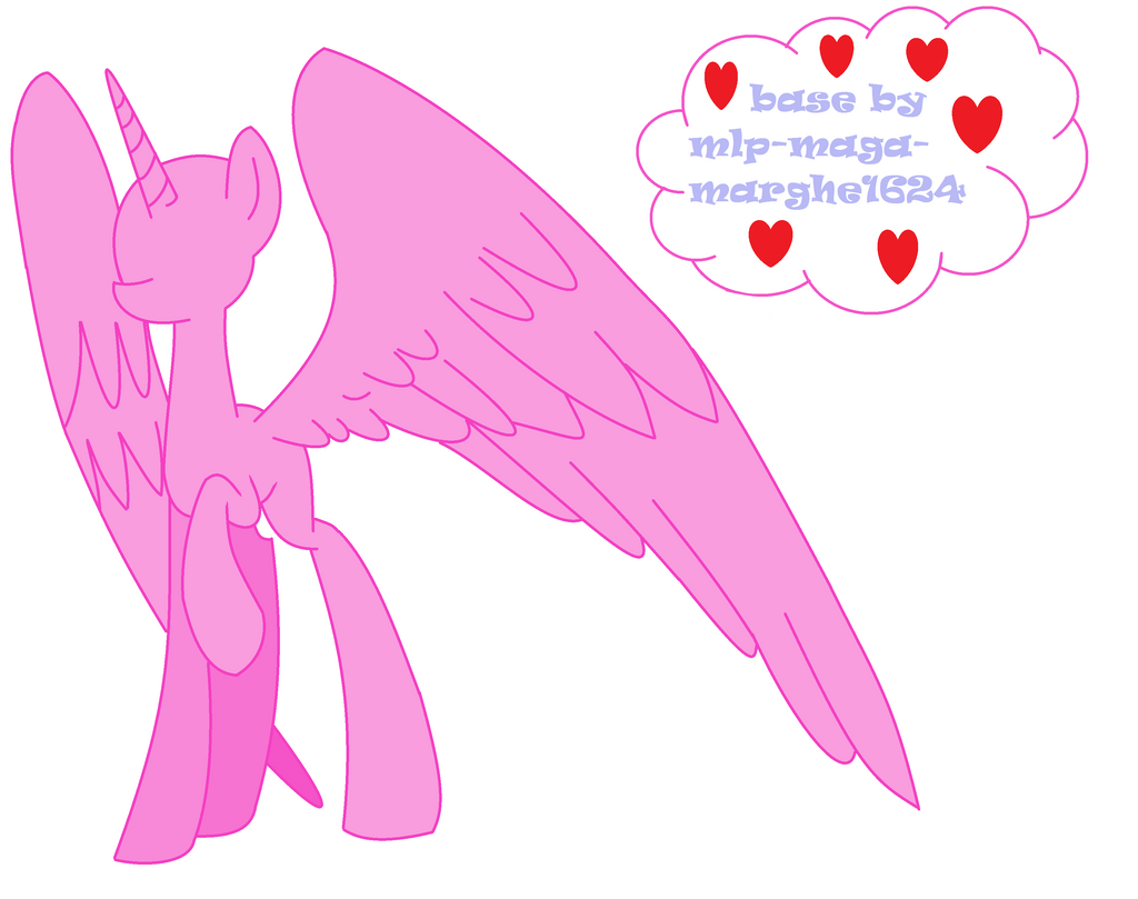 Mlp Alicorn Base: Mlp Alicorn Base Pictures To Pin On Pinterest