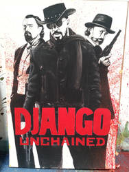 Django Unchained - movie poster by SpringSnowflakes