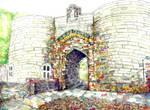 Nottingham Castle Gates
