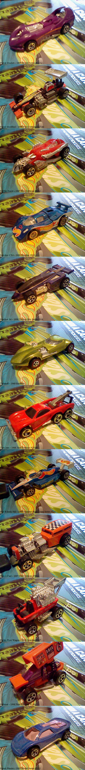 Stunt Track Driver - Die-Cast Collection by Sfrhk678