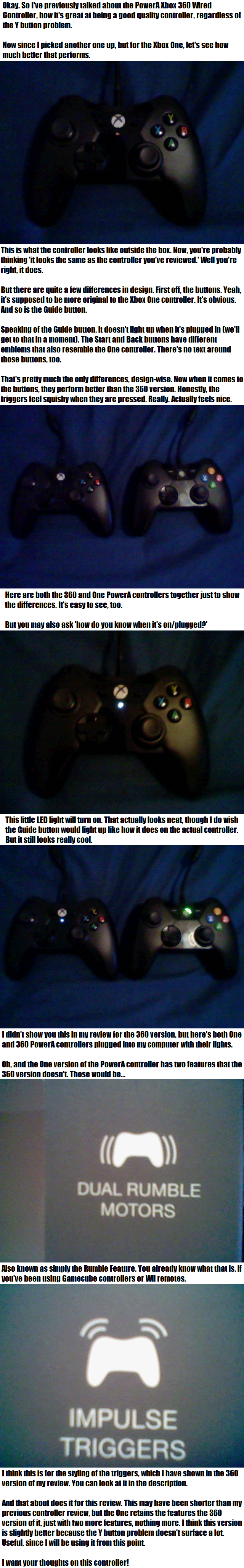 PowerA Xbox One Controller Review by Sfrhk678 on DeviantArt