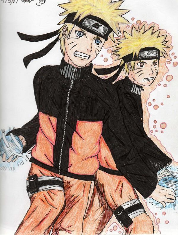 Naruto kage bunshin fanfiction