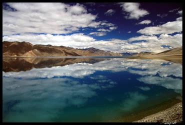 Pangong Tso, Ladakh by janapka