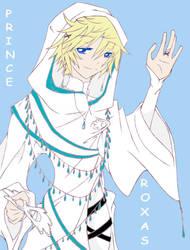 Prince Roxas by Hikari-Sora1
