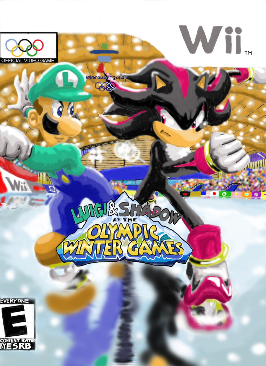 Luigi And Sonic ::Luigi Vs. Shadow:: b...