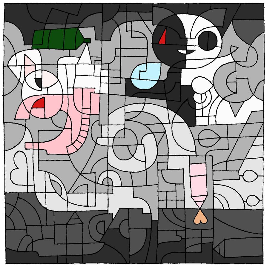 Monokuma vs. Monomi - Deviantart 16 BDay by xMovi