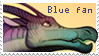 Blue Stamp by Maanhart