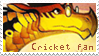 Cricket Stamp by Maanhart
